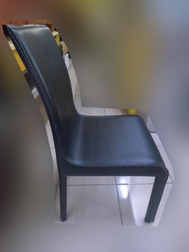 全新出清馬鞍皮全包覆餐桌椅 會議椅洽談椅書桌椅等候椅吃飯椅 2