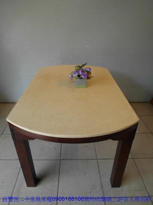 二手白色鐵製兒童書桌椅 補習班桌椅 學生課桌椅安親班桌椅 4