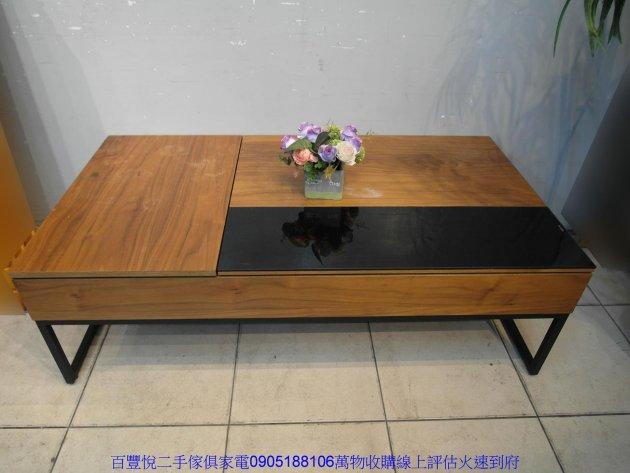 二手胡桃色標準雙人5尺床頭櫃 五尺床頭箱雙人床收納櫃 3