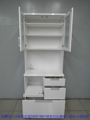 二手柚木色單人加大3.5尺床組 組合式三尺半床架床台 3