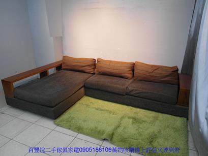 二手胡桃色雙人加大歐式床組 6*6.2組合式床架雙人床台 3