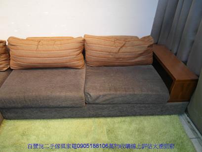 二手胡桃色雙人加大歐式床組 6*6.2組合式床架雙人床台 4