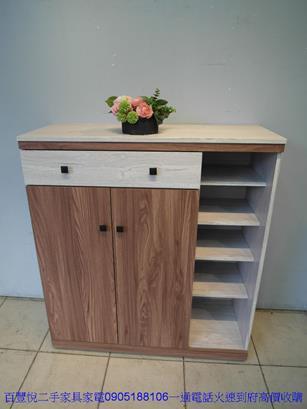 新品北歐風雙色3.5尺鞋櫃玄關櫃收納櫃鞋櫥邊櫃拖鞋櫃 1