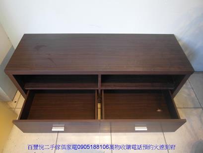 新品限量88公分仿古雞翅木下2門開放式書櫃書櫥展示藝品櫃 3