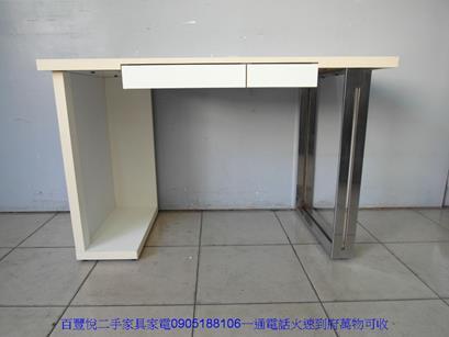 二手110公分sosi首席兒童成長書桌椅組學生桌椅孩童桌 1