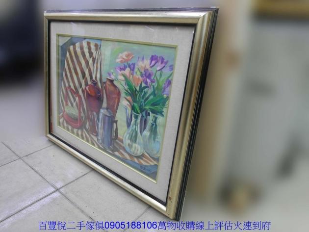 二手各式客廳擺飾掛畫裝飾品藝術品印刷畫辦公室布置掛畫 3