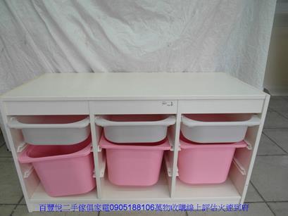 二手sosi首席藍色兒童成長書桌 孩童桌工作桌寫字桌 5