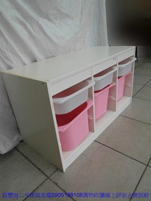 二手sosi首席藍色兒童成長書桌 孩童桌工作桌寫字桌 1