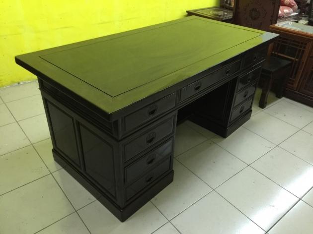 正黑檀木主管桌 黑檀木老闆桌 頂級物件稀有 會議桌 方桌 會議桌 5