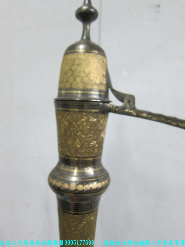 二手青銅器精雕鎏金神壺 老件擺件酒器銅壺 4