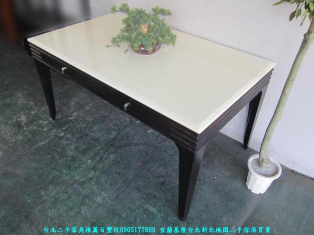 二手辦公OA140公分辦公桌 工作桌 職員桌 讀書桌 洽談桌 主管桌 寫字桌 1