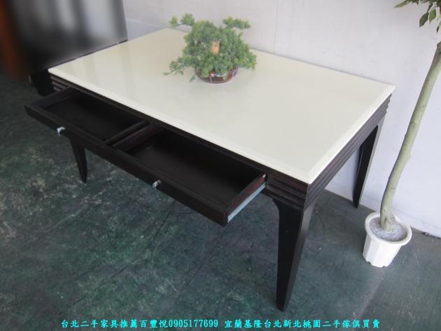 二手辦公OA140公分辦公桌 工作桌 職員桌 讀書桌 洽談桌 主管桌 寫字桌 4