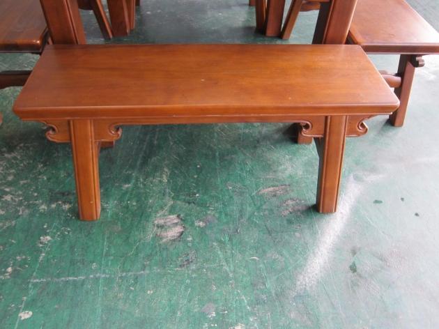 二手復古風全實木一桌4椅餐桌椅組 吃飯泡茶桌椅休閒桌 4