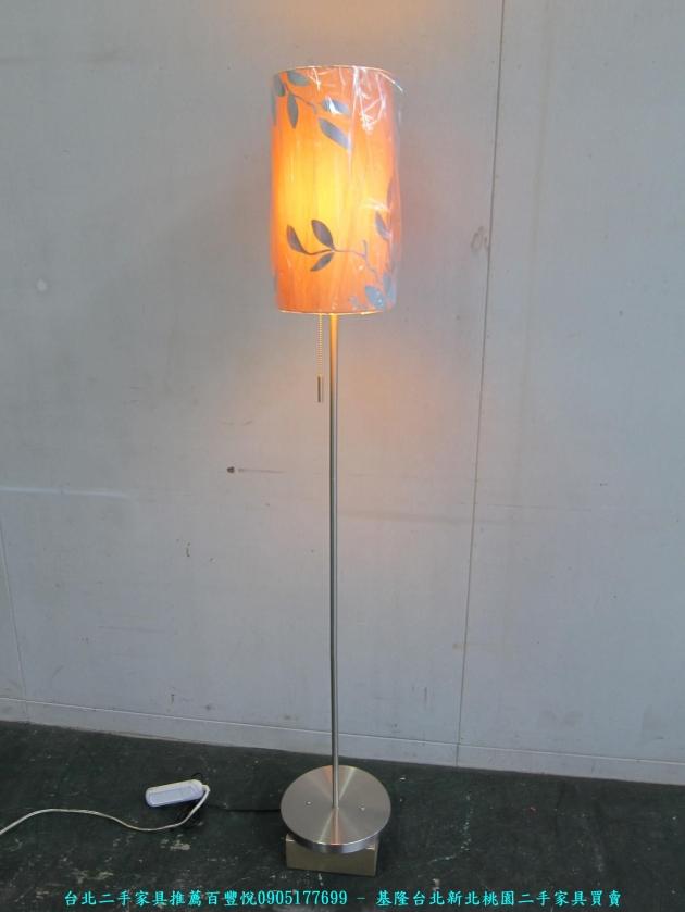 二手簡約造型藝術燈 中古立燈 床頭燈 客廳燈 落地燈 氣氛燈 燈飾 燈具 1