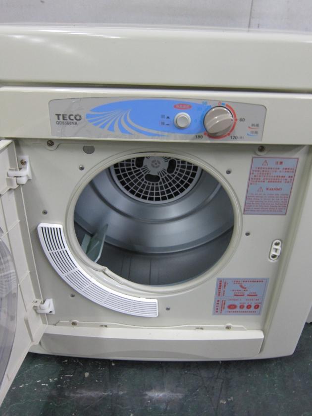 二手東元銀色5公斤烘衣機 103年 QD5568NA 中古烘乾機 乾衣機 中古家電 4