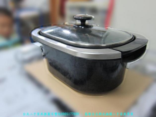 二手大同黑色三合一關東煮鍋 THP-2 中古火鍋料理鍋 蒸鍋 電鍋 鐵板燒 2