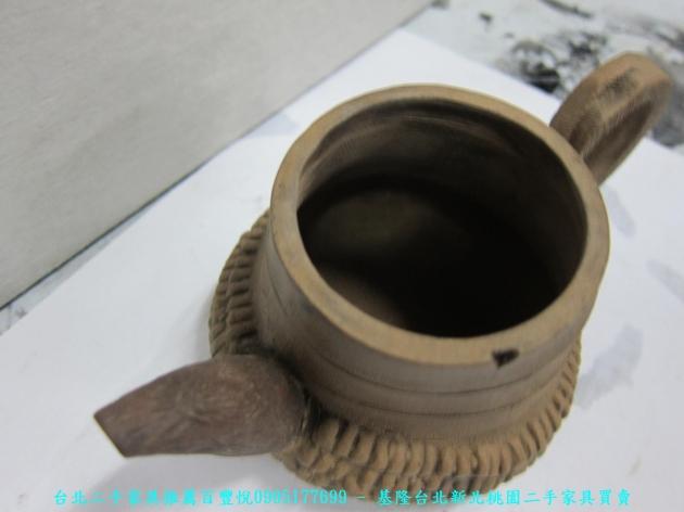 手工窯燒造型茶壺 擺飾品藝術品收藏品 3