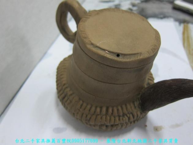 手工窯燒造型茶壺 擺飾品藝術品收藏品 4
