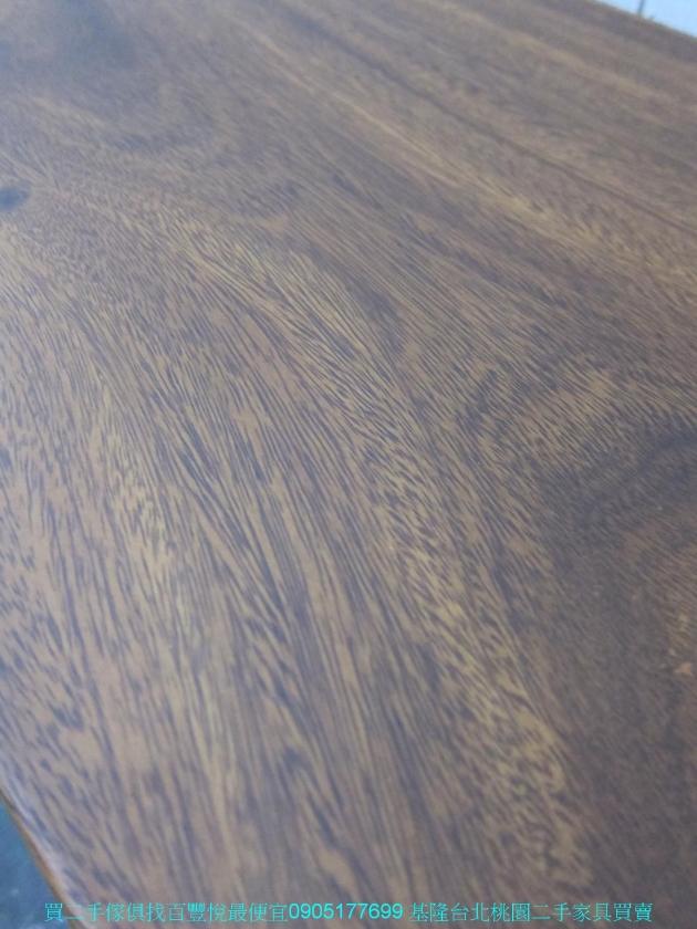 限量新品雨豆木178公分長凳 矮凳 吃飯椅 泡茶椅 接待椅 咖啡椅 休閒椅 5