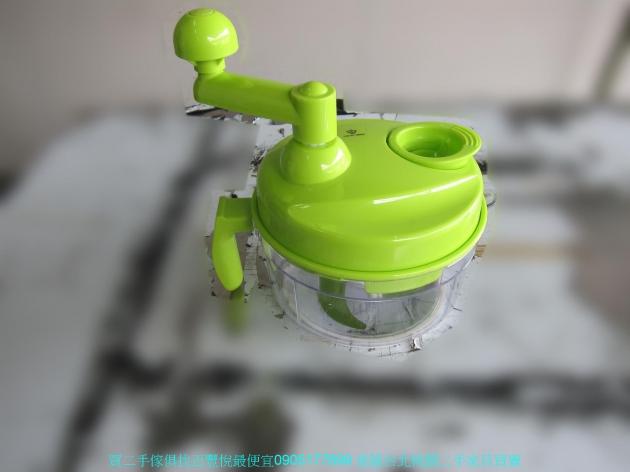 二手鍋寶綠色多功能食物調理機 一機三用 FD1001 中古切菜機 廚房用品 中古家具 1