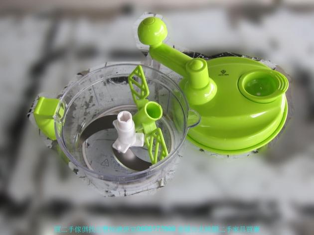 二手鍋寶綠色多功能食物調理機 一機三用 FD1001 中古切菜機 廚房用品 中古家具 3