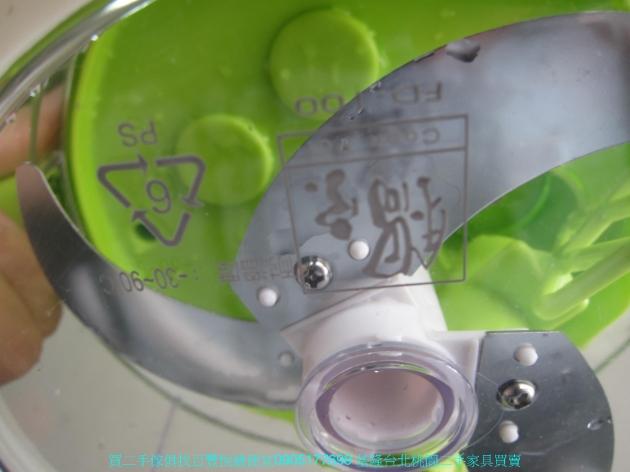 二手鍋寶綠色多功能食物調理機 一機三用 FD1001 中古切菜機 廚房用品 中古家具 2