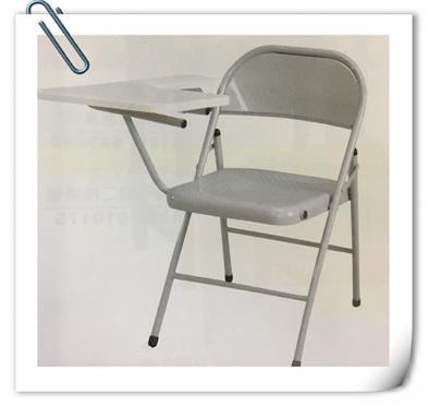庫存出清鐵製學生課桌椅 補習椅大學椅折合椅收納摺疊椅 工作椅 洽談椅 書桌椅 1