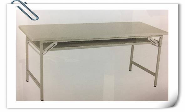 庫存新品辦公OA四尺折合桌 收納摺疊桌 置物工作桌 寫字桌 會議桌 洽談桌 1