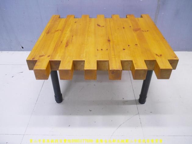 二手茶几二手客廳茶几工業風93公分造型茶几 實木桌 矮桌 邊桌 沙發桌 1