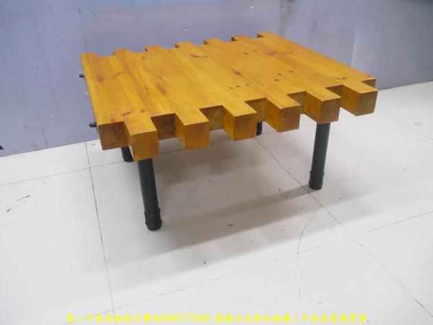 二手茶几二手客廳茶几工業風93公分造型茶几 實木桌 矮桌 邊桌 沙發桌 2