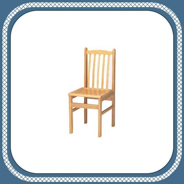 新品出清原木色實木靠背餐椅 吃飯椅學生椅 休閒泡茶椅 1