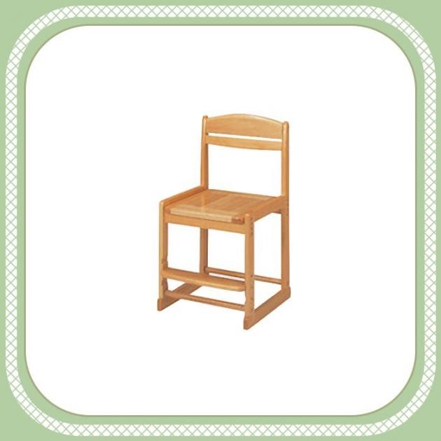 新品出清實木原木色升降椅 學生寫字椅 工作休閒椅 吃飯等候椅 1